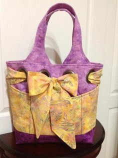 Extra Large Tote Bag - Handmade Purse 09