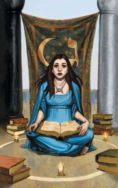 The High Priestess: Tarot de Buffy