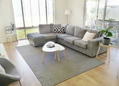 Trendy Home Decored Kmart Lounge Room 17 Ideas Lounge Room Styling, Home And Living, Furniture, Home Living Room, Living Room Modern, Interior Design, Trendy Home, Living Room Furniture, Home Deco