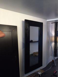 Ikea painted black...