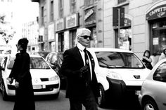 Lagerfeld everyone. He is a god.