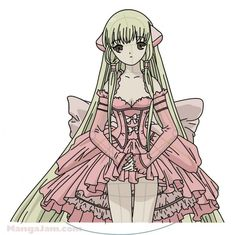 How to Draw Chi from Chobits step by step