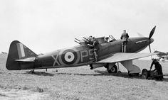 Boulton Paul Deviant Ww2 Aircraft, Military Aircraft, Aeroplane Flying, Hawker Hurricane, Vintage Airplanes, Battle Of Britain, Royal Air Force, Historical Pictures, World War Ii