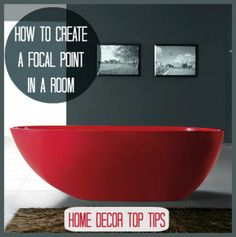 Blog post at Love Chic Living :  So what is a focal point and why do we need one? We often here interior designers and home magazines talking about the elusive focal point[..]