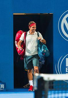 Roger Federer Brisbane 2014