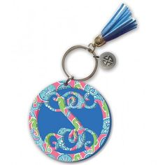 Simply Southern 'S' Seashell Keychain – THE LUCKY KNOT