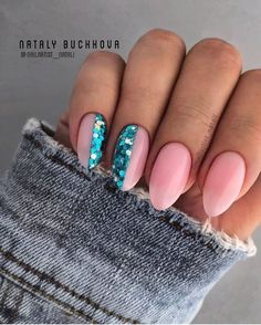Fancy Nails, Pink Nails, Cute Nails, Pink Summer Nails, Shellac Nail Colors, Summer Nail Polish, Shellac Nails, Gel Polish, Oval Shaped Nails