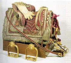 1760 king George III coronation saddle
