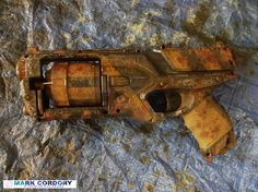 Post Apocalyptic NERF Strongarm conversion. Made by Mark Cordory Creations www.markcordory.com