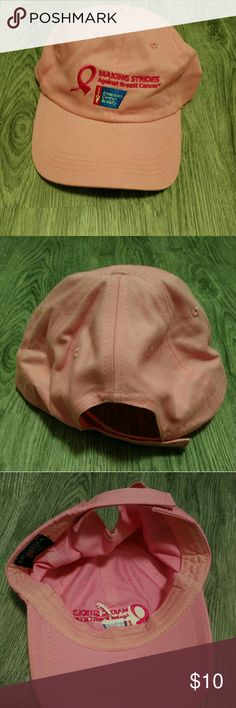 $10/OBO Pink Breast Cancer Awareness Hat EUC! Accessories Hats