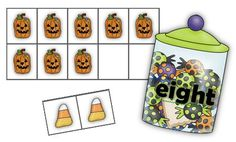 Math Coach's Corner: Halloween Ten-Frames. FREE! Halloween-themed ten-frames help students build a conceptual understanding of numbers to ten. Includes suggestions for use.