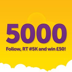 Follow, RT and #5K for your chance to #win £50! @PeachyLoans