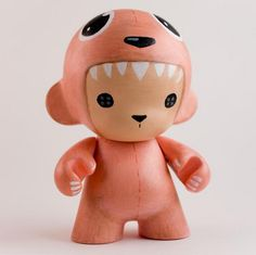 Chibi costume MUNNY doll! This would look so cute with a tiger, panda or dinosaur design...