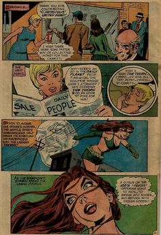 """Superman's Girlfriend Lois Lane #116,November 1971. D C Comics. Back up story featuring Rose and the Thorn. """"Computed to Kill."""" Script: Robert Kanigher. Art: Dick Giordano."""