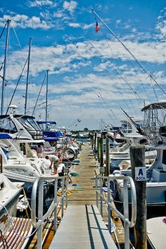 looks like one of the marinas here at the Crystal Coast, NC.