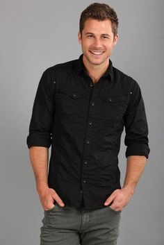 black. fitted. button up shirts. jeans. real. simple. comfortable. style.   Sneakers cd1d83d174b4a