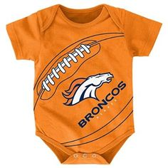 78530c80663 NFL Denver Broncos Creeper, 18 Months, Orange Denver Broncos Baby, Broncos  Fans,