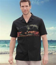 Chemise Malibu Surfing #atlasformen #avis #discount #livraison #commande #été #summer