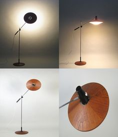 Floor lamp designed by George Frydman for Temde Germany, 1950s