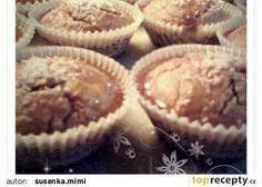 Celozrnné špaldové muffiny s medovou polevou