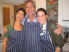 A cookery class as a Father's Day present