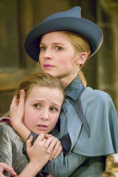 Fleur and Gabrielle Delacour.  This is the only thing I liked about Fleur.  Stuck up popular girls are usually my least favorite characters.  But Rowling managed to make her extremely relatable despite all of this.  Like her, I would do anything for my little sister.