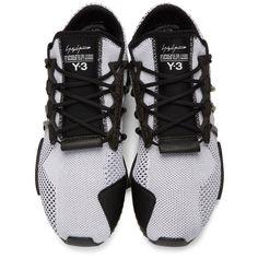 d6aaa5ef3 Y-3 - White   Black Y-3 Harigane Sneakers