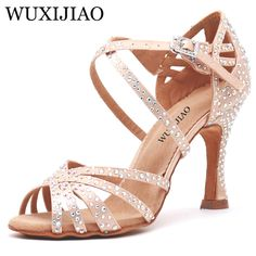 Office & School Supplies Ladies Womens Ballroom Latin Dance Shoes Salsa Shoes Female Samba Tango Cha Cha Social Party Dance Shoes Summer Sandals