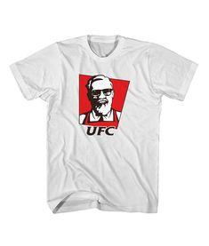 Conor Mcregor UFC KFC Parody Men Women T Shirt - Price: $11.00 - Ferolos.com    #christmassweater