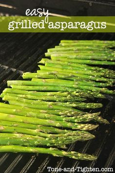 Easy Grilled Asparagus on Tone-and-Tighten.com