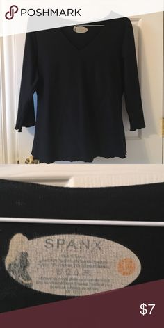 Spanx size Lg black top Perfect layering piece that hides the curves SPANX Tops