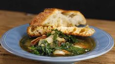 Emeril's Caldo Verde- A comforting dinner made with simple, fresh ingredients.