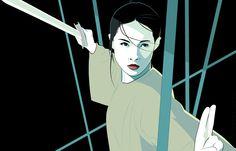 """Jen Yu Crouching Tiger Hidden Dragon"" by Craig Drake"