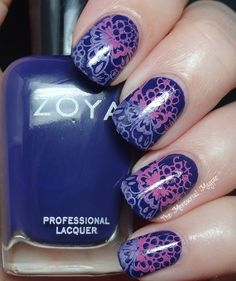 the mercurial magpie: Multicolored stamping with Zoya, Sally Hansen & Moyou London