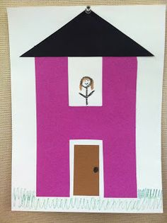 H is for House storytime -- books, songs, rhymes, and craft