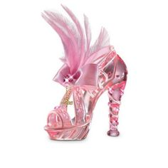 First-Ever Breast Cancer Support Art Glass Shoe Figurines