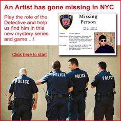 Interactive Mystery, help us find Missing Artist Russell Vapors High School Art, Middle School Art, Museum Education, Art Education, Common Core Art, Heinrich Schliemann, Importance Of Art, Crafts For 3 Year Olds, 8th Grade Art