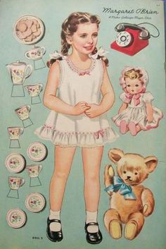 Margaret O'Brien paper doll / eBay