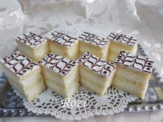Rozi Erdélyi konyhája: Citromkrémes szelet Waffles, Pie, Sweets, Baking, Breakfast, Recipes, Food, Hungary, Torte