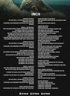 Inch Lyrics