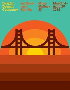 Aaron Draplin- Draplin Design Co. Landscape Illustration, Graphic Illustration, Draplin Design, American Logo, Tropical, Vintage Travel Posters, Design Reference, Graphic Design Inspiration, Logo Design