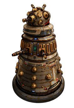 Promo Robot designs for Zombicide : Invader inspired form Claptrap of Borderland, Turret of Portal & Dalek of Dr. Character Art, Character Design, Dnd Monsters, Image Fun, Robot Design, Sci Fi Characters, Dalek, Borderlands, Prehistoric