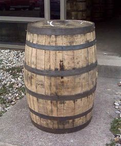 http://barrelwholesalers.com/WhiskeyBarrels.aspx  Once Used Bourbon Barrels  Straight from Bourbon County and used only one time.  This barrel has been recently emptied and in great conditon.       $94.95 ea