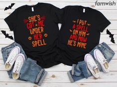 Festive Threads Unisex Baby Join Us If Dare Halloween Scare T-Shirt Romper