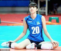 次世代の美人すぎるバレーボール選手「Altynbekova Sabina」が話題に!