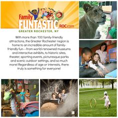 Family Funtastic ROC.com great website for affordable family fun in the Rochester and Finger Lakes Region. #ILOVENY www.familyfuntasticroc.com