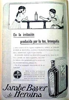 Heroin cough syrup for children (Spanish)