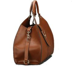 Buckled Leather Tote Handbag - The Best Accessory  - 7