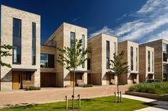 Seven Acres Cambridge Social Housing Architecture, Brick Architecture, Architecture Details, Brick Rendering, Shelter Design, Townhouse Designs, Beautiful Buildings, Exterior, Bricks