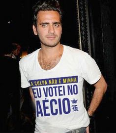 Sergio K. cria camiseta polêmica e pede a petistas que deixem de segui-lo no Instagram - Terraço Paulistano